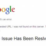 Masalah custom domain 404 That's an error